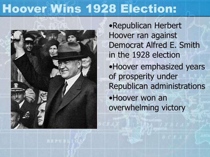 Hoover Wins 1928 Election: