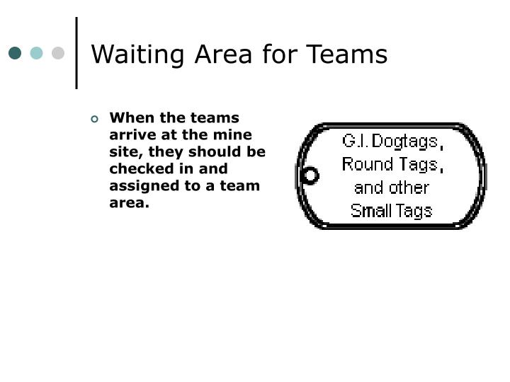 Waiting Area for Teams