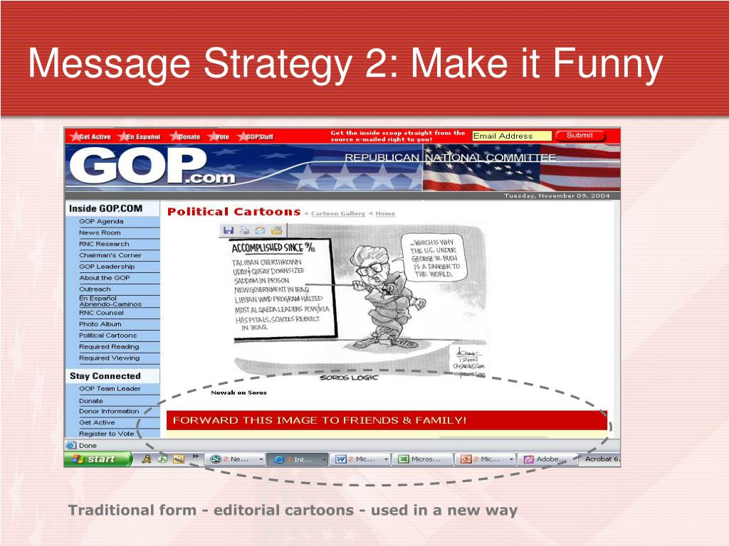 Message Strategy 2: Make it Funny