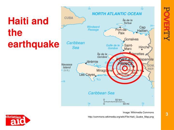 Haiti and the earthquake