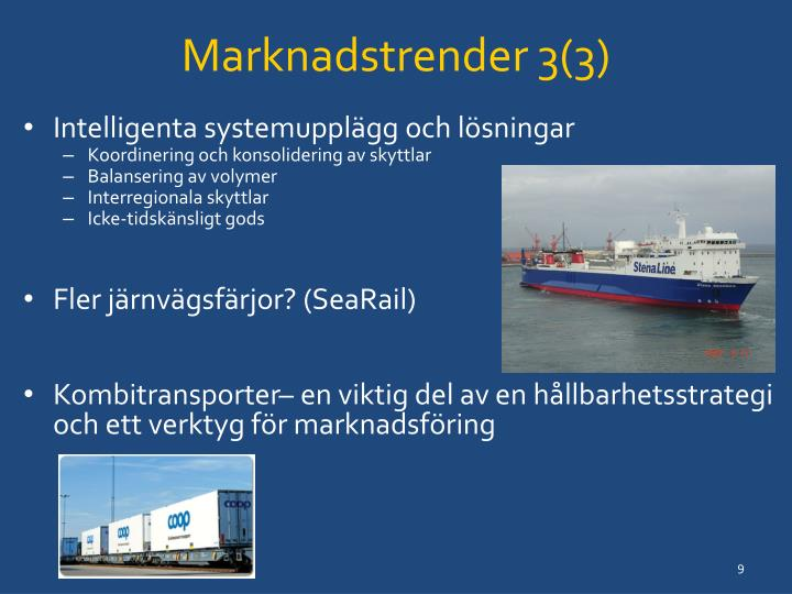Marknadstrender 3(3)