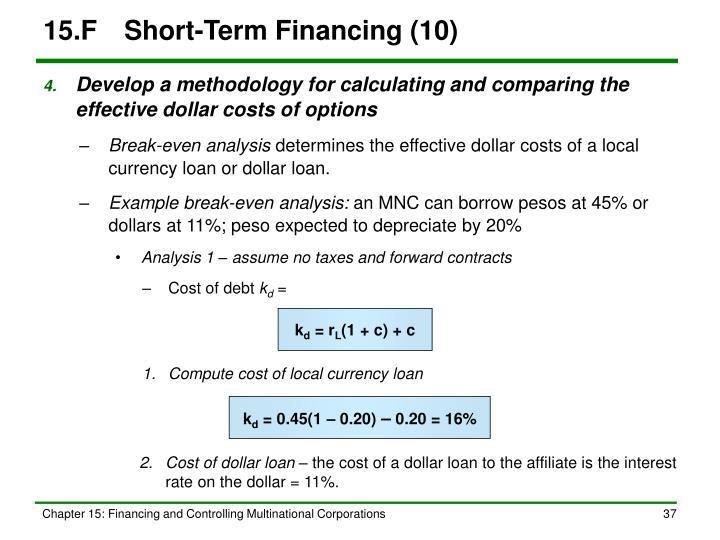 15.FShort-Term Financing (10)