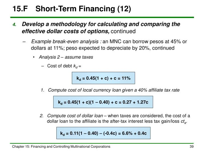 15.FShort-Term Financing (12)