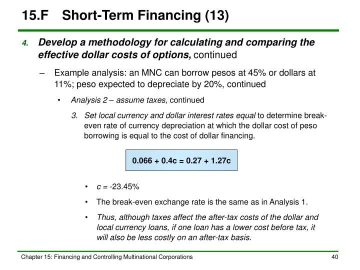 15.FShort-Term Financing (13)