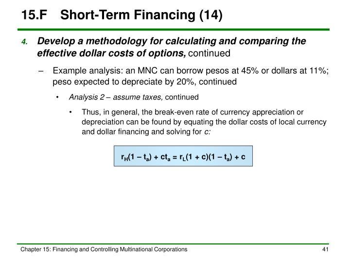 15.FShort-Term Financing (14)
