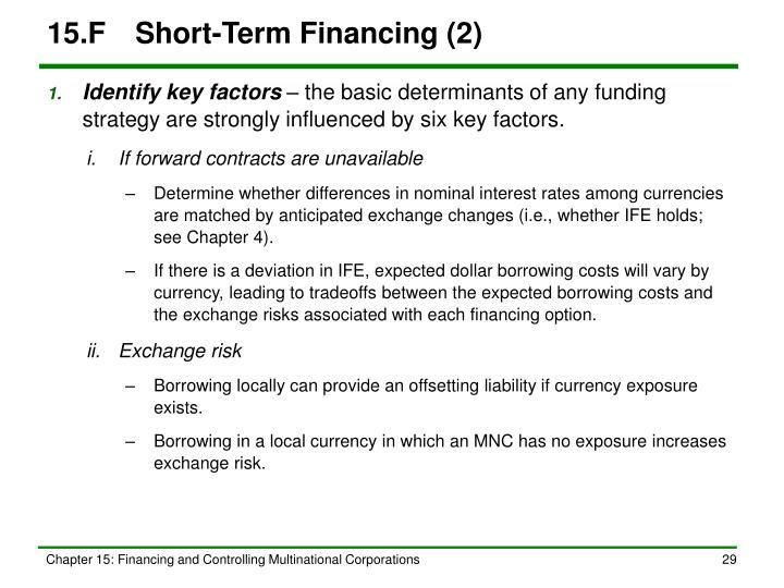 15.FShort-Term Financing (2)