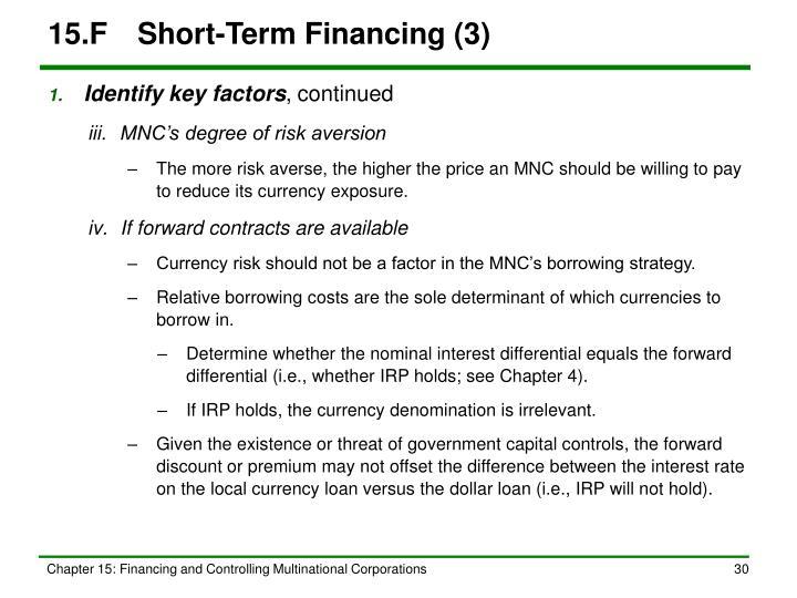 15.FShort-Term Financing (3)