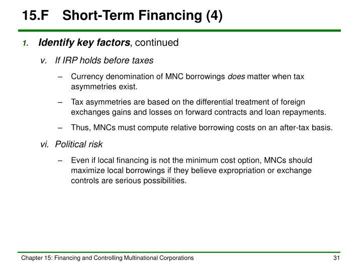 15.FShort-Term Financing (4)