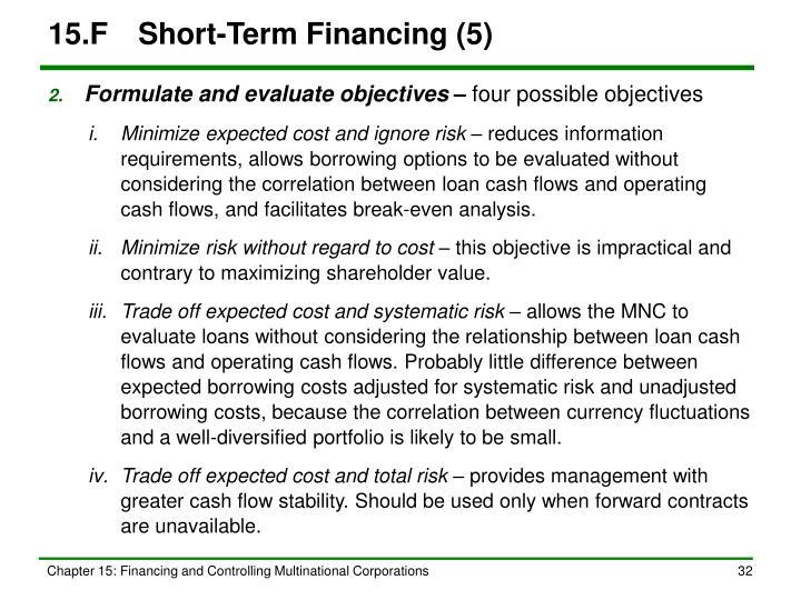 15.FShort-Term Financing (5)