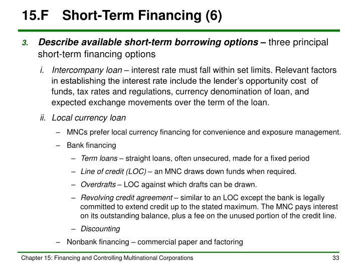 15.FShort-Term Financing (6)