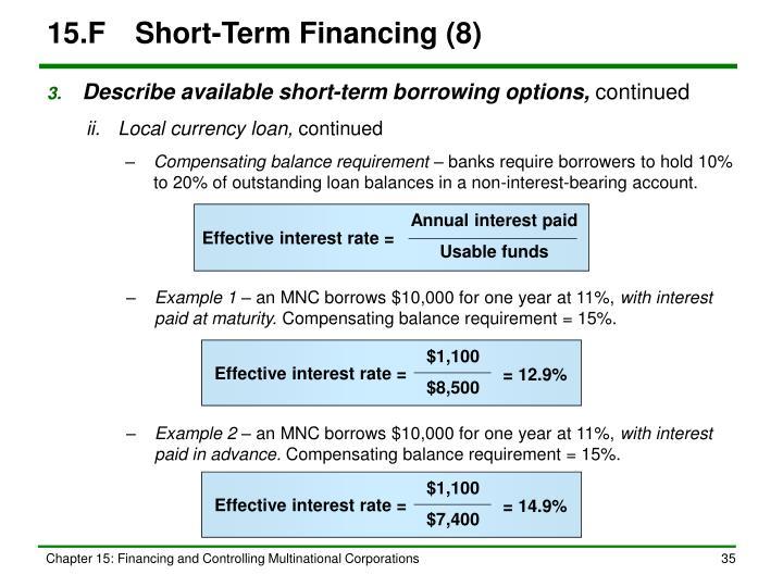 15.FShort-Term Financing (8)