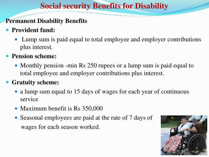 Social security Benefits for Disability