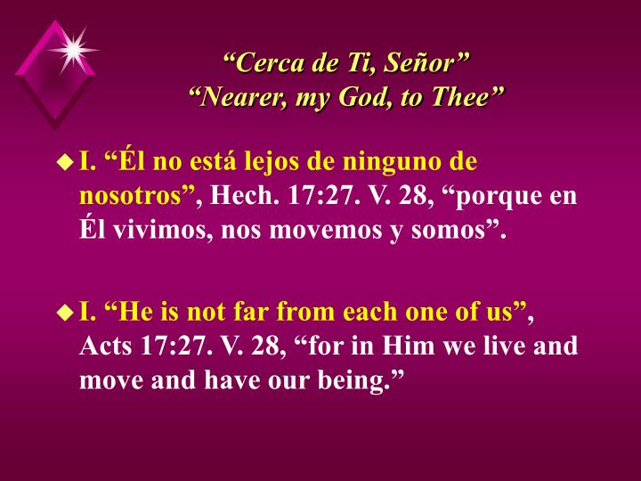 Cerca de ti se or nearer my god to thee3