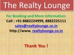 the realty lounge