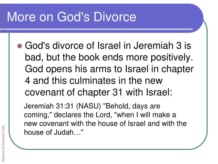 More on God