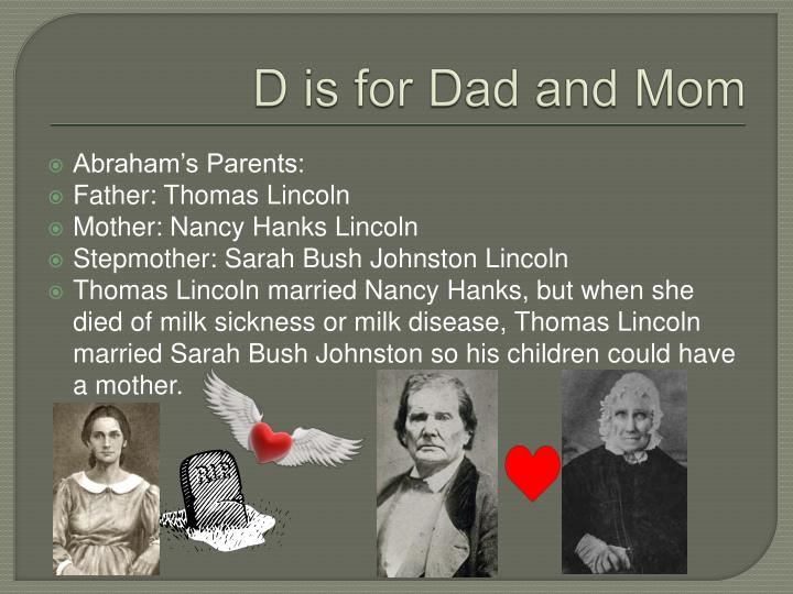 D is for Dad and Mom