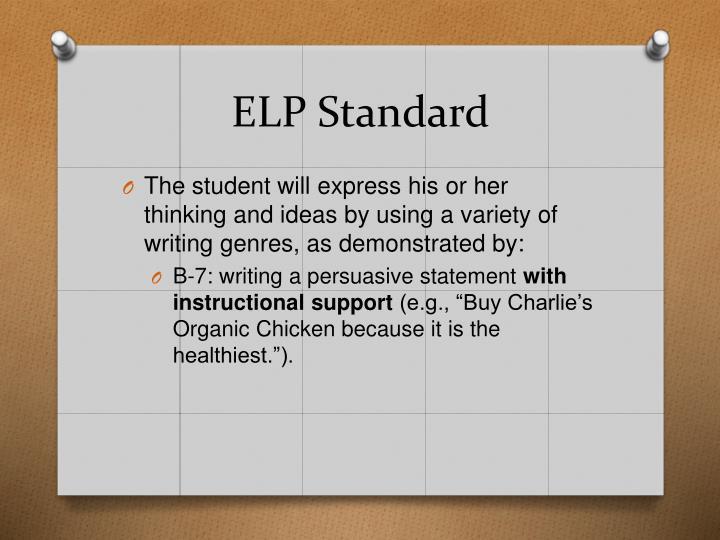 ELP Standard