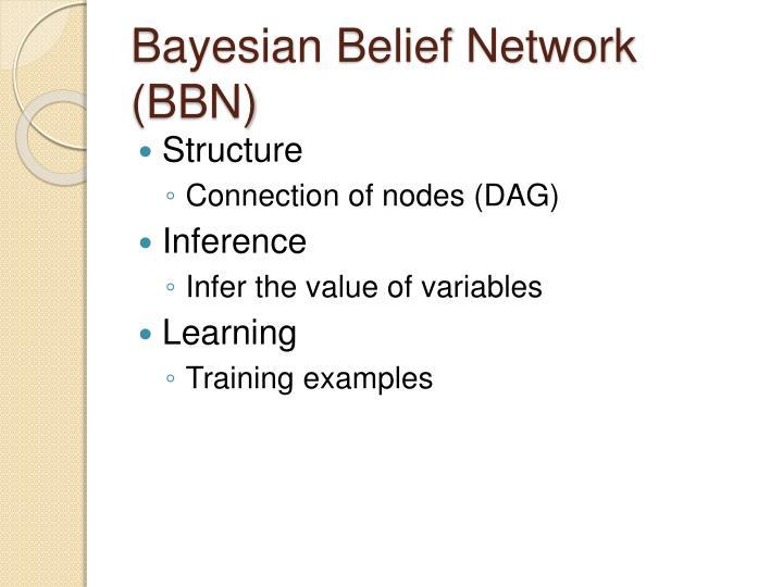 Bayesian Belief Network (BBN)