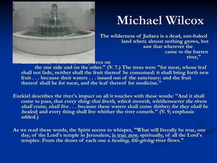 Michael Wilcox
