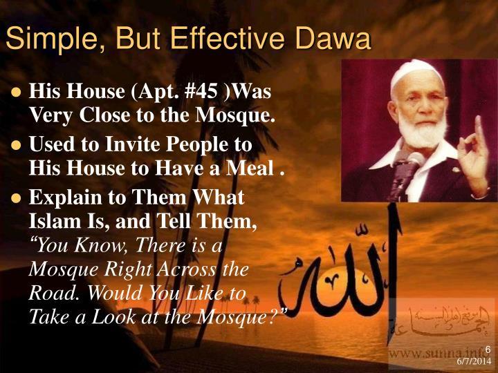 Simple, But Effective Dawa