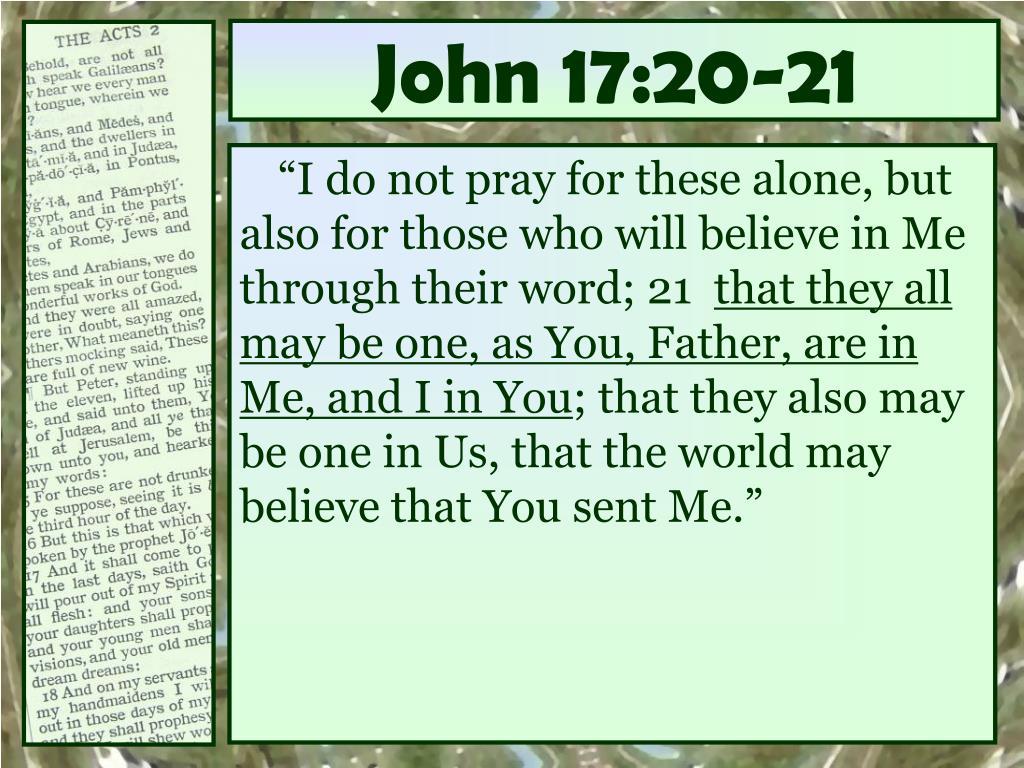 John 17:20-21