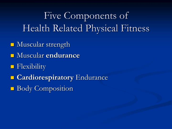 Five Components of