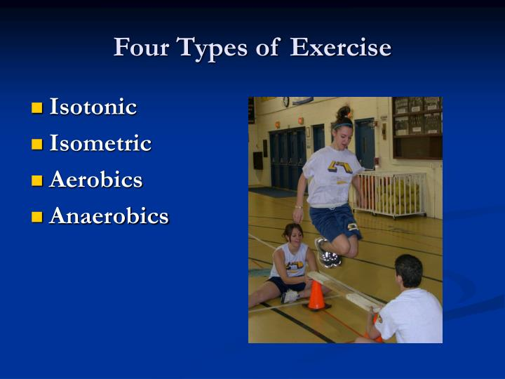 Four Types of Exercise
