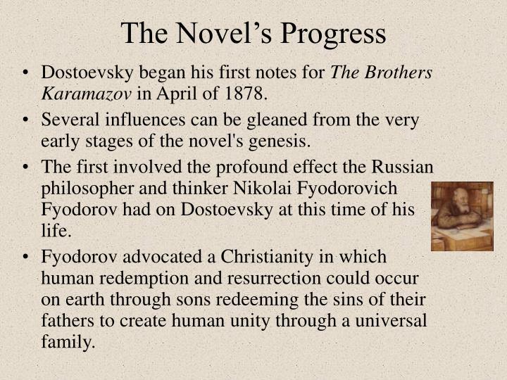 The Novel's Progress