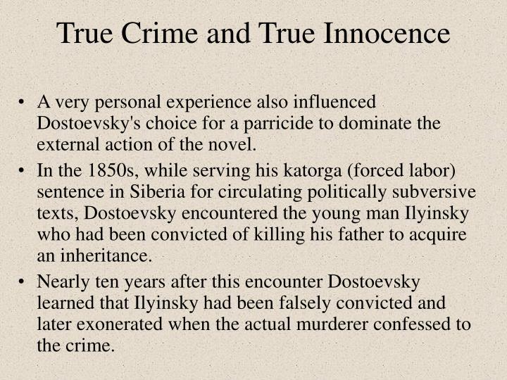True Crime and True Innocence