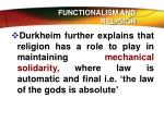 functionalism and religion2