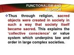 functionalism and religion3