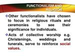 functionalism and religion6