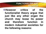 functionalism and religion8