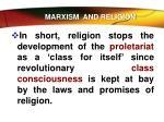 marxism and religion1