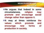weberianism and religion1