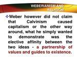 weberianism and religion4
