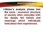 weberianism and religion5