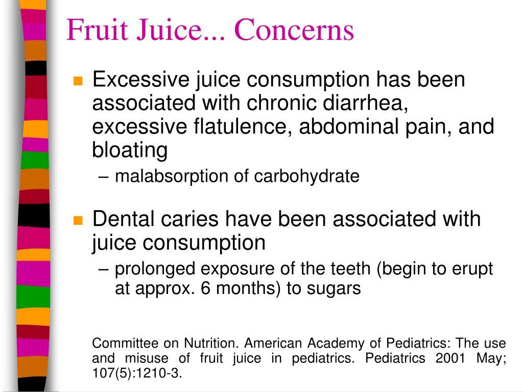 Fruit Juice... Concerns