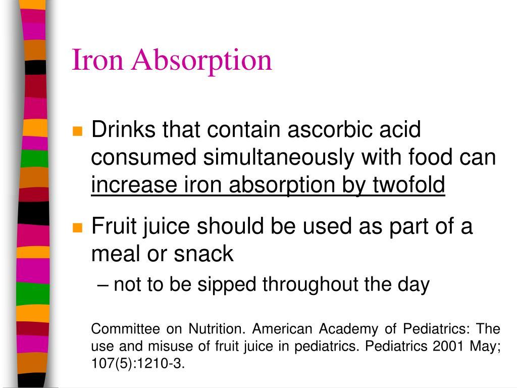 Iron Absorption