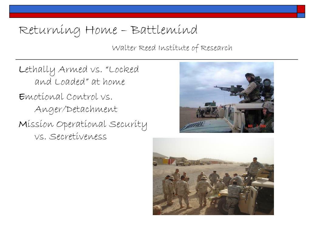Returning Home – Battlemind