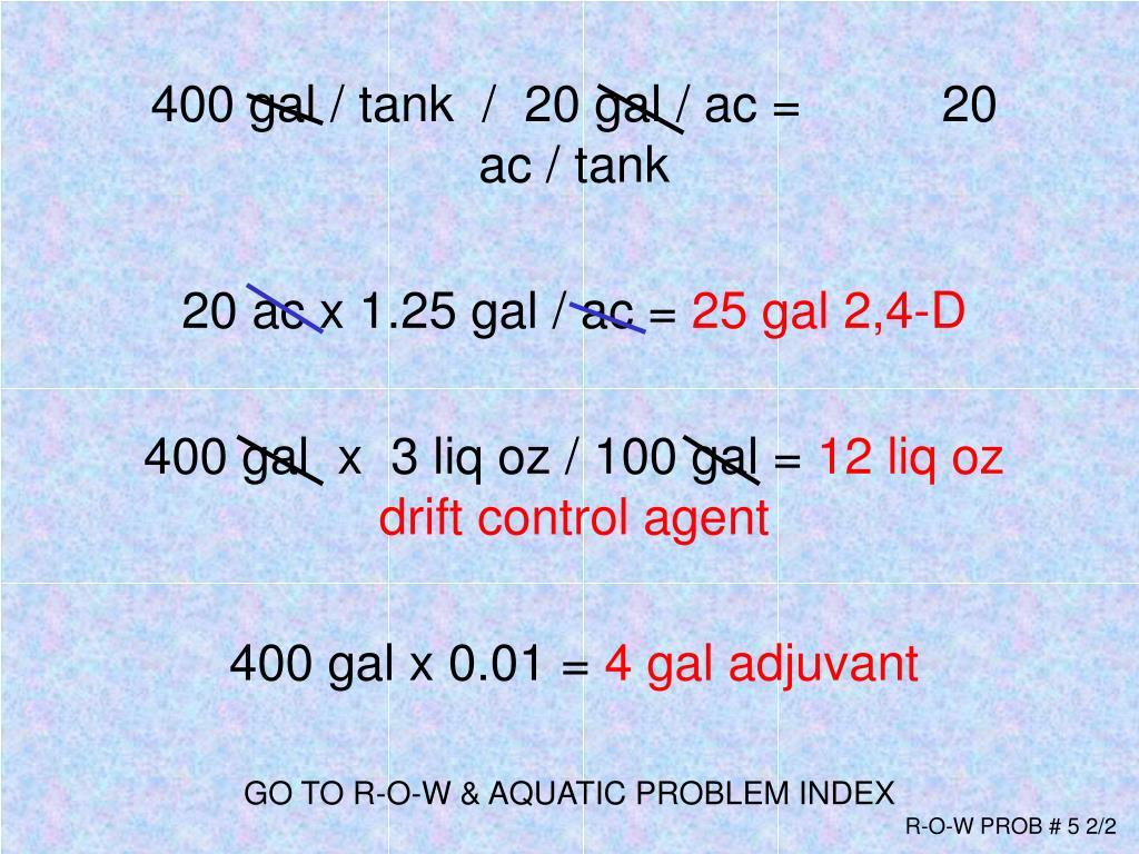 GO TO R-O-W & AQUATIC PROBLEM INDEX