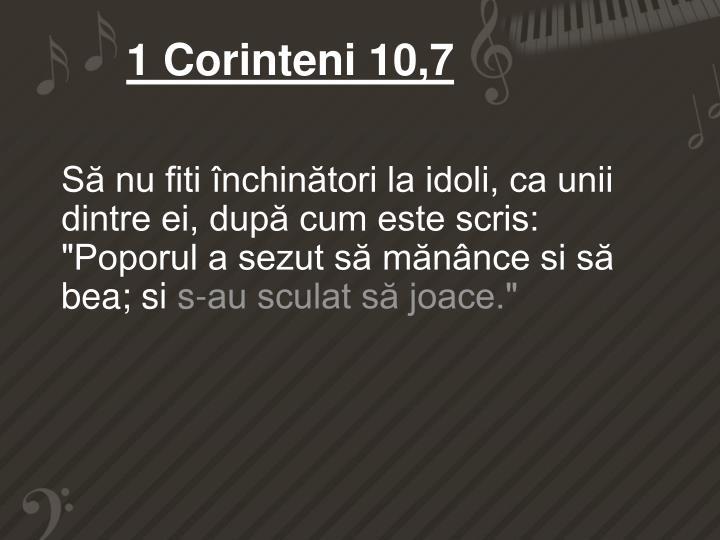 1 Corinteni 10,7