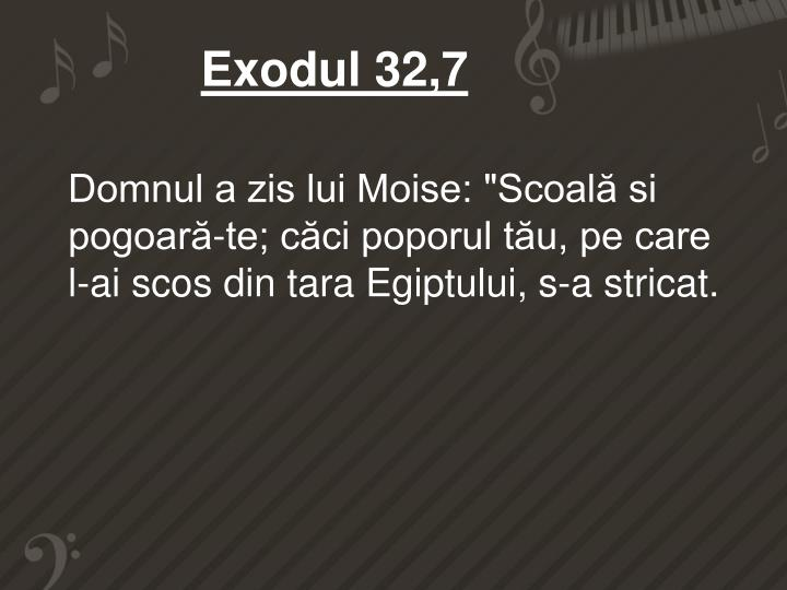 Exodul 32,7