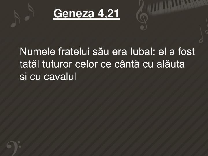 Geneza 4,21