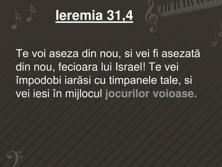 Ieremia 31,4