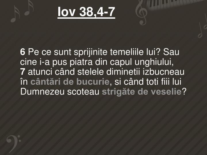 Iov 38,4-7