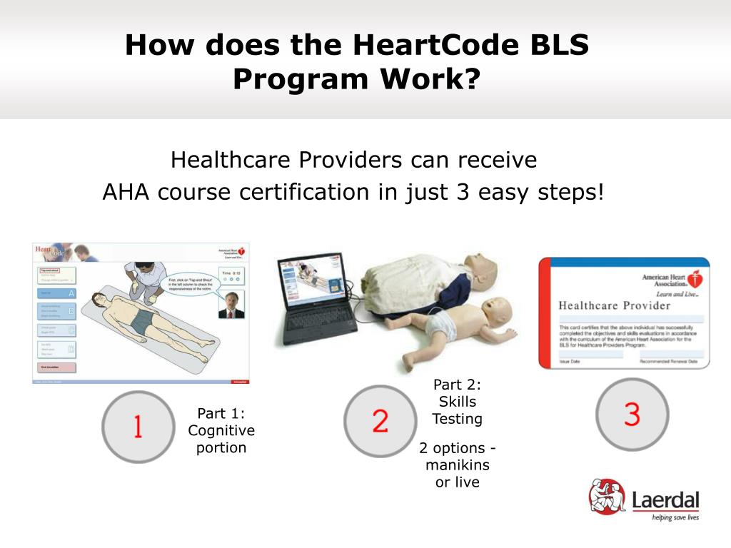 How does the HeartCode BLS
