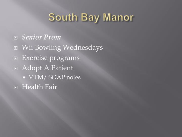 South Bay Manor