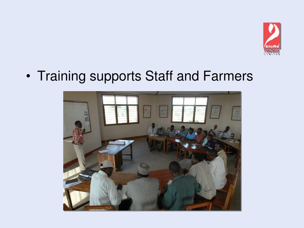Training supports Staff and Farmers