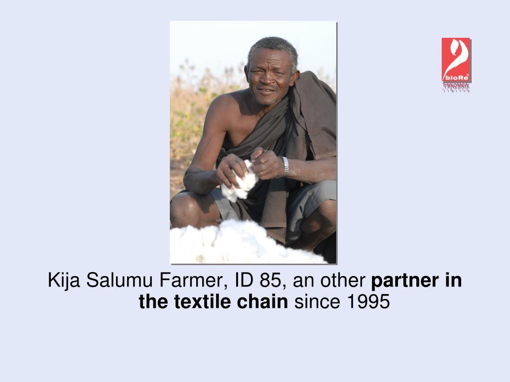 Kija Salumu Farmer, ID 85, an other